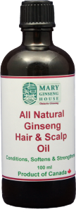 All Natural Ginseng Hair and Scalp Oil (100ml)