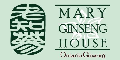 Mary Ginseng House Logo