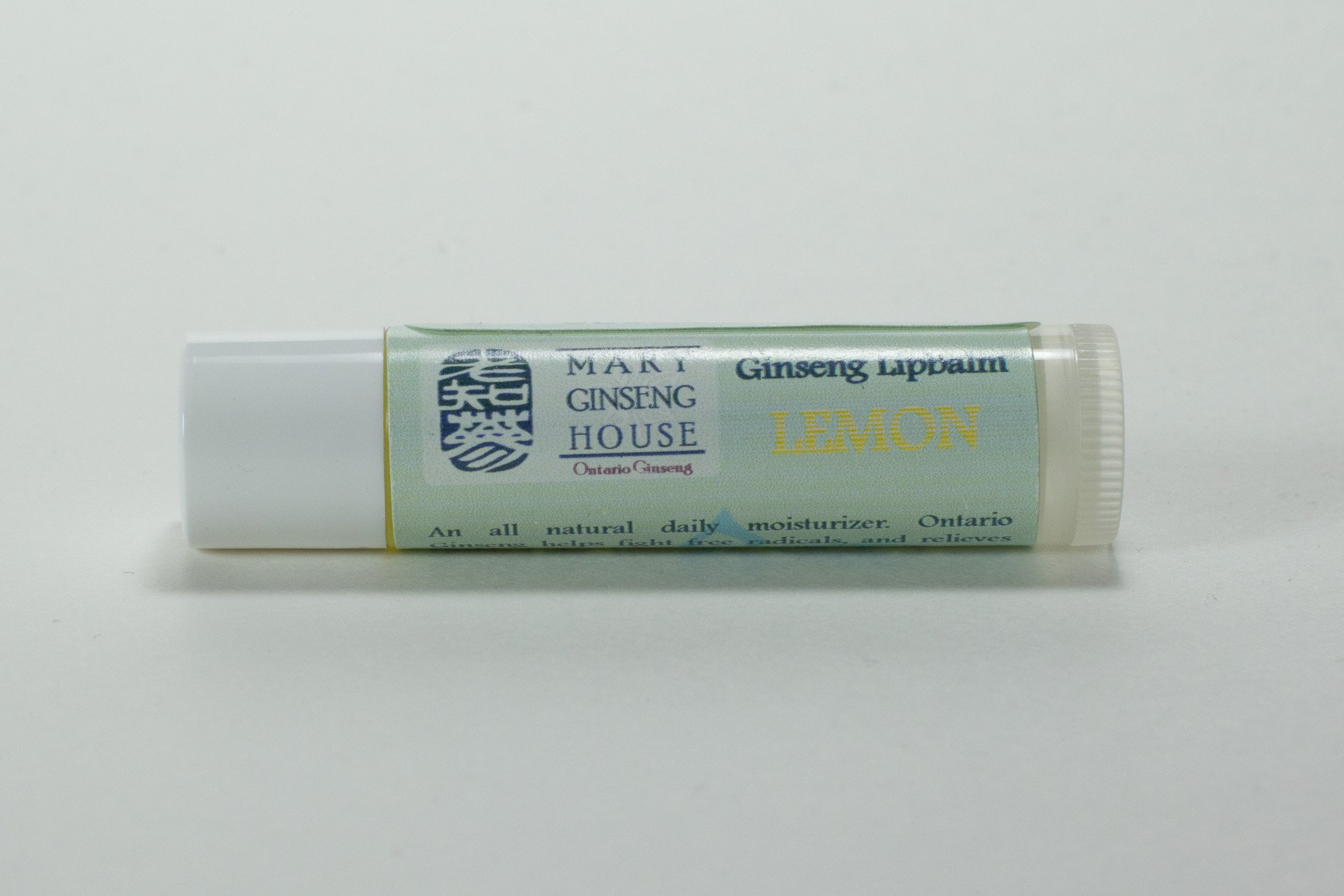Ginseng Lipbalm Lemon