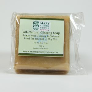 Hand-made Ginseng Oatmeal Soap (100 g)