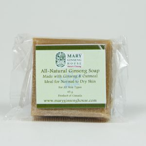 Hand-made Ginseng Oatmeal Soap (45 g)